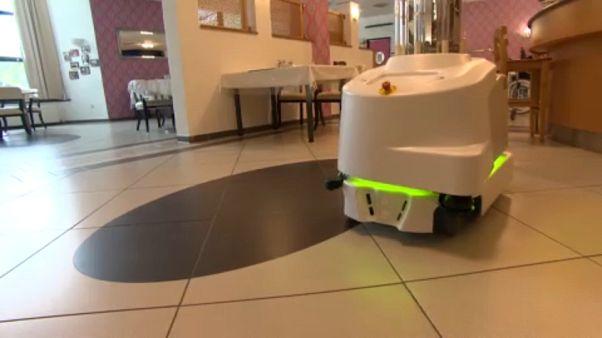 Wo Roboter gegen Viren kämpfen