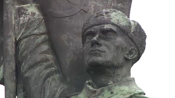 A szovjet katona szobra