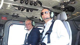 Μπορέλ-Αγγελίδης: Πέταξαν πάνω από την Κυπριακή ΑΟΖ με φόντο τις τουρκικές προκλήσεις