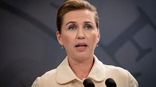 Danish Prime Minister Mette Frederiksen in Copenhagen on May 29, 2020.