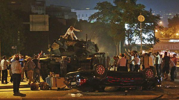 عکس از کودتای چهارسال پیش ترکیه