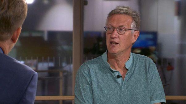 Schwedens führender Epidemiologe im TV-Interview
