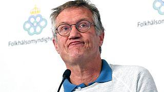 El epidemiólogo sueco Anders Tegnell durante la rueda de prensa diaria el pasado 9 de junio