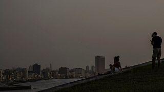 Az űrből is látni a szaharai porfelhőt, ami Kubára telepedett