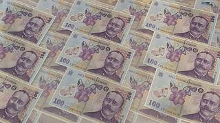 Romania's crime unit said the gang was responsible for 350,000 euros in damages and over 17,000 fake banknotes.