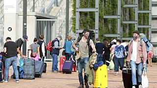 Deutsche Reisende in Südafrika