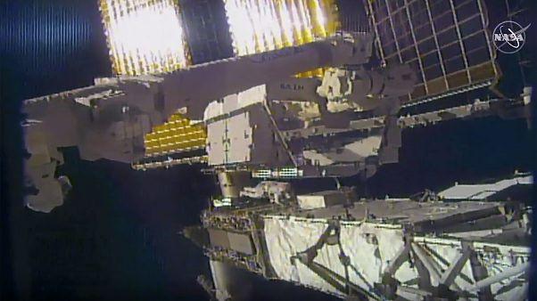 رواد ناسا يقومون بأعمال صيانة خارج محطة الفضاء الدولية - 2020/06/26