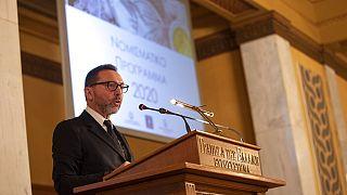 Bank of Greece governor Yannis Stournara