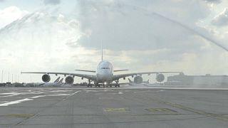 وداع ایرفرانس با بزرگترین هواپیمای تجاری تاریخ