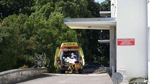 Medical staff in Saaremaa island, Estonia.