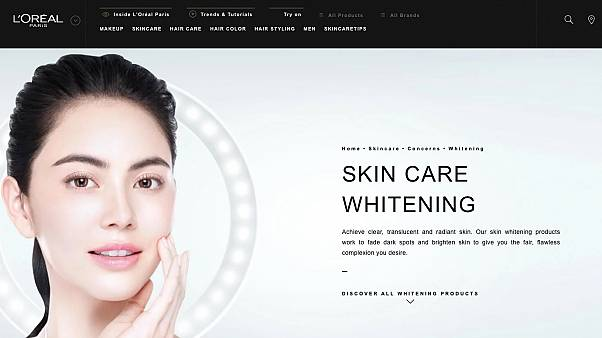 Kozmetik devi L'Oreal ürünlerinde 'beyazlatıcı' ifadesini artık kullanmayacak