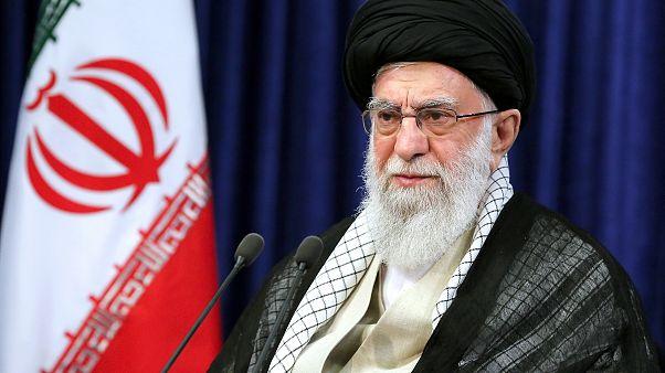 المرشد الأعلى في إيران آية الله علي خامنئي
