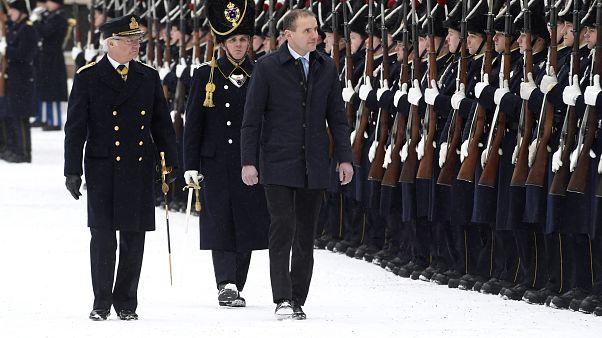 رئيس آيسلندا غوندي تورلاسيوس، خلال زيارة إلى السويد - ستكهولم - 2018/01/17