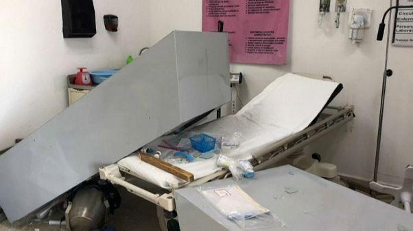 تخريب معدات مستشفى في مكسيكو