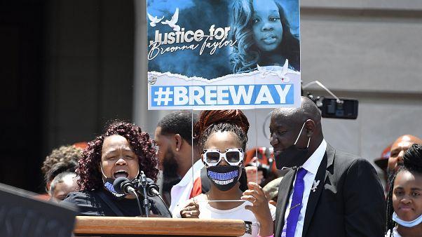 Manifestación contra la violencia policial en Louisville
