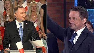 Polonia: El liberal Trazkowski desafiará al ultraconservador Duda en segunda vuelta