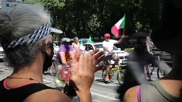 Caravana de protesta en México contra López Obrador
