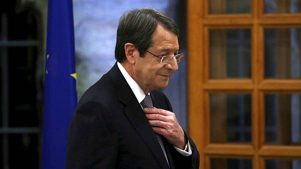 O πρόεδρος της Κυπριακής Δημοκρατίας, Ν. Αναστασιάδης