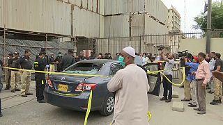Pakistan'da Karaçi Borsası'na silahlı saldırı düzenlendi