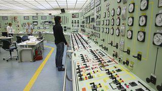 Arbeiter in einem Kraftwerk