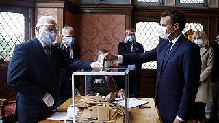 انتخابات شهرداری ها در فرانسه؛ پیروزی سبزها و شکست حزب حاکم