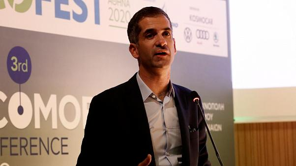 Ο δήμαρχος Αθηνών Κ Μπακογιάννης σε παλαιότερη εκδήλωση