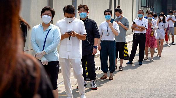 کاهش موارد ابتلا به کرونا در پکن؛ از ۸ میلیون نفر تست گرفته شد