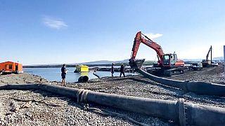 Szennyvízzel árasztotta el a tundrát egy orosz bányavállalat