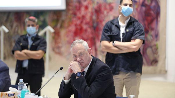 بيني غانتس، وزير الدفاع الإسرائيلي في الكنيست القدس