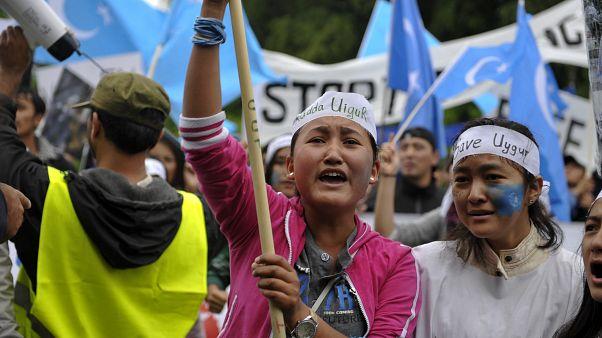 Uigurische Frauen