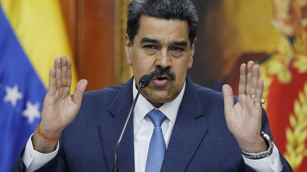 Nicolás Maduro, Venezuelas Präsident.