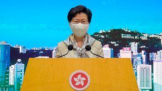 رفضت كاري لام التعليق على الأخبار حول مصادقة البرلمان الصيني على قانون الأمن القومي