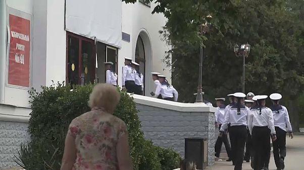 Голосование в Севастополе.