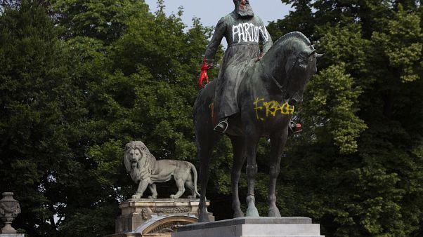 A belga király megkövette a kongóiakat