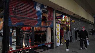 Reconfinamiento y ruina de los negocios en Buenos Aires