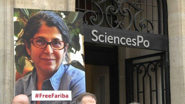 Portrait de Fariba Adelkhah, Paris 3 mars 2020 - capture d'écran d'une vidéo AFP