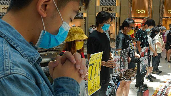 اعتصامٌ في هونغ كونغ لمؤيدي الديقراطية ضد قانون الأمن القومي لبكين