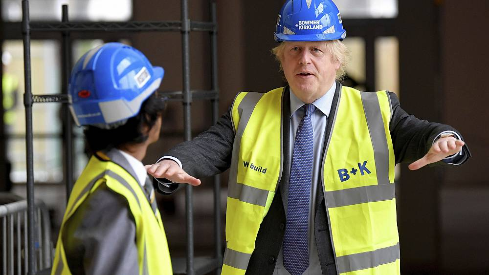 'Build build build!': Boris Johnson sets out 'new deal' on infrastructure to...
