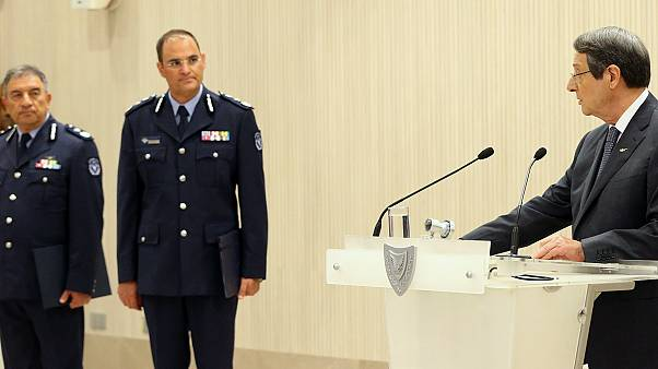 ΠτΔ- Τελετή διορισμού νέου Αρχηγού και νέου Υπαρχηγού Αστυνομίας