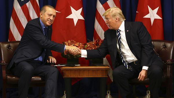 Cumhurbaşkanı Recep Tayyip Erdoğan // ABD Başkanı Donald Trump