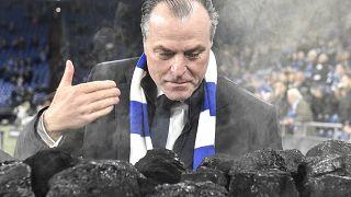 Tönnies bei einem Schalke-Spiel 2018