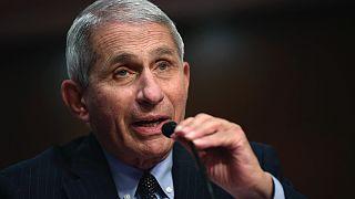 Doktor Fauci ABD Senato'suna Covid-19 salgınının son durumu hakkında bilgi verdi