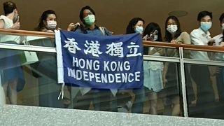 تشدید تدابیر امنیتی در هنگکنگ همزمان با تصویب لایحه امنیت ملی در پکن