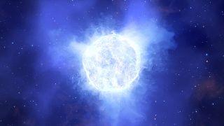 Kaybolan yıldızın ilüstrasyonu