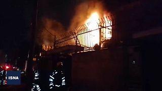 انفجار و آتشسوزی در یک مرکز درمانی در تجریش دست کم ۱۹ کشته بر جای گذاشت