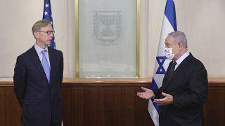 Netanyahu discute con l'inviato USA