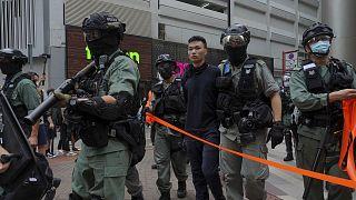 Plus de 300 personnes ont été arrêtées ce 1er juillet 2020 à Hong Kong, dix dans le cadre l'entrée en vigueur de la loi sur la sécurité