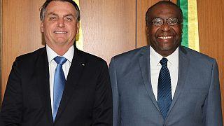 Brezilya Devlet Başkanı Jair Bolsonaro ve istifa eden Eğitim Bakanı Carlos Alberto Decotelli
