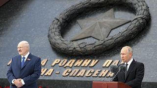 Wladimir Putin und Alexander Lukaschenko