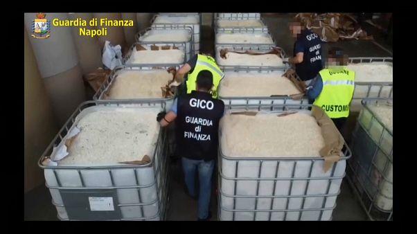 Olaszország: a valaha volt legnagyobb szintetikus drogfogás